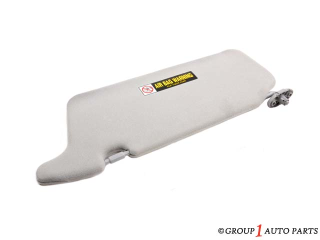 SUNVISOR ASSY., PASSENGER (RIGHT) *NH220L* (MIRROR) (CLEAR GRAY)