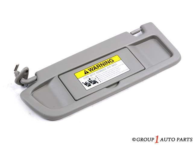 2006-2008 CIVIC HYBRID - SUNVISOR, DRIVER (Left) (Gray - Hybrid Sedan only) *NH556L*