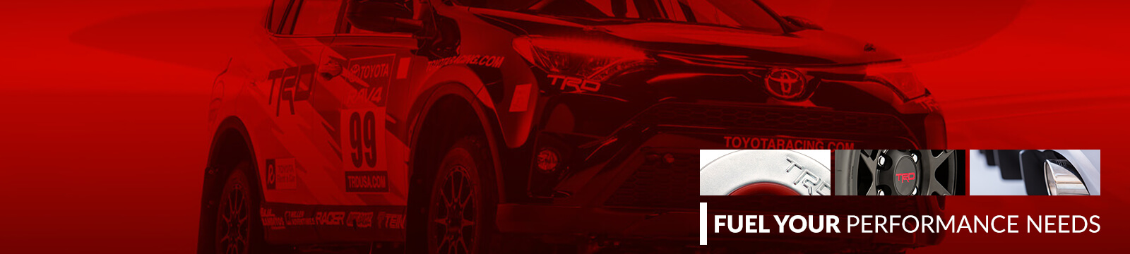 Toyota performance parts - trd