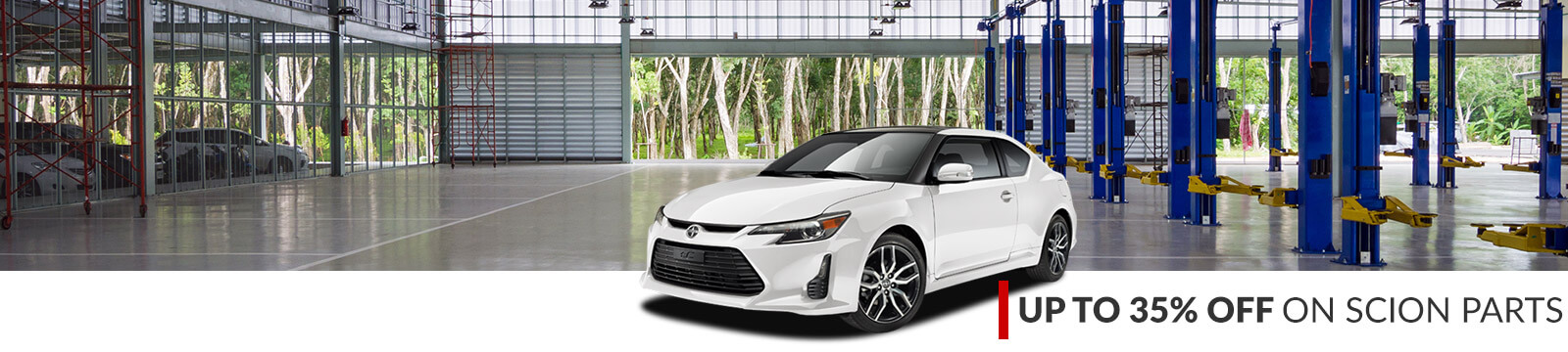 Scion discount parts