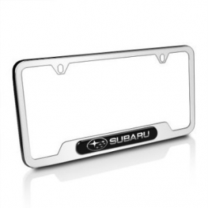GENUINE SUBARU SOA342L127 LICENSE PLATE FRAME