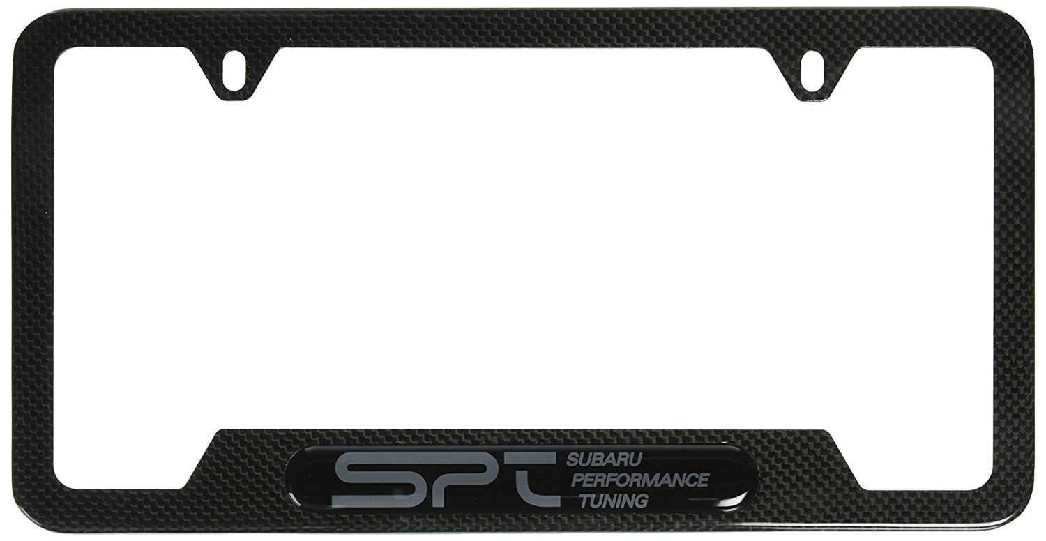 SPT Carbon Fiber License Plate Frame