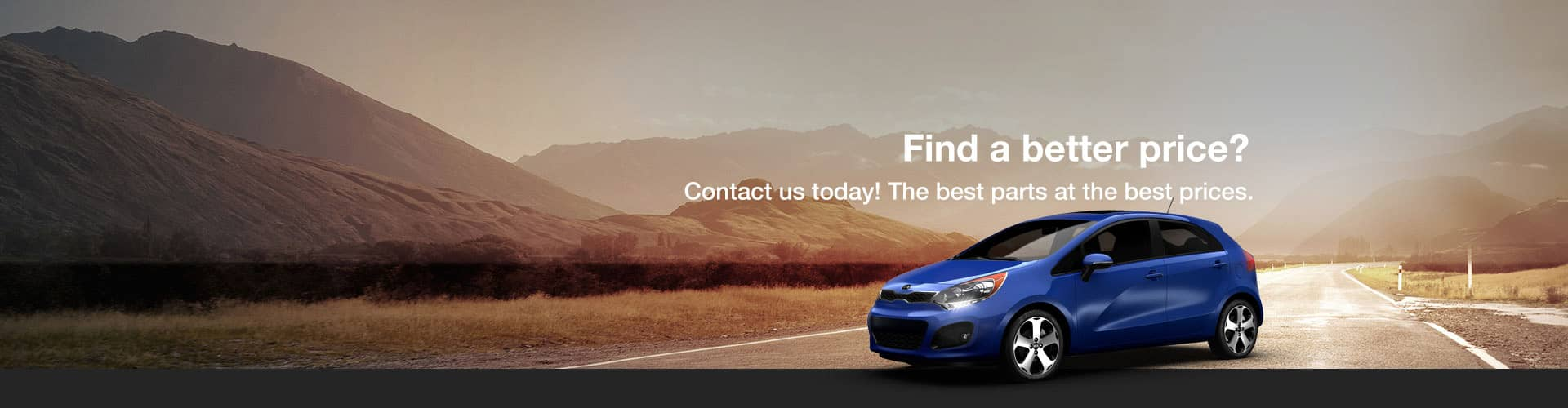 Best parts at the best prices. OEM Kia parts and accessories