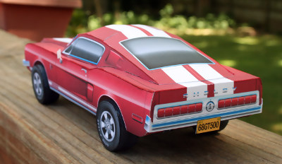 Left Rear view of Model