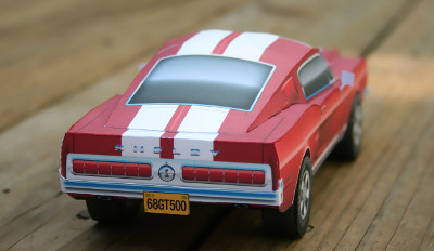 Right Rear view of Model