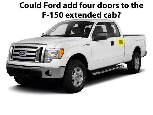 2014 Ford F-150 Extended Cab Four Doors