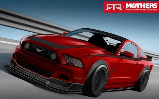 Ford Custom SEMA Mustangs - Mothers - Autosport Dynamics - RTR