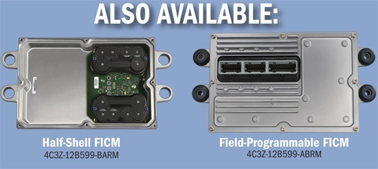 OEM Fuel Injection Control Module Replacement - Half Shell and Field-Programmed