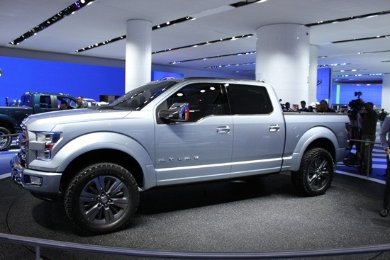 Ford F-150 Atlas Concept - Body