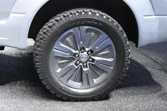 Ford F-150 Atlas Concept - Wheels