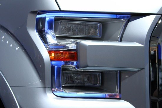 Ford F-150 Atlas Concept - Headlights