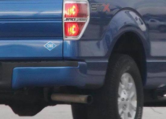 CNG-Powered F-150 - Sticker