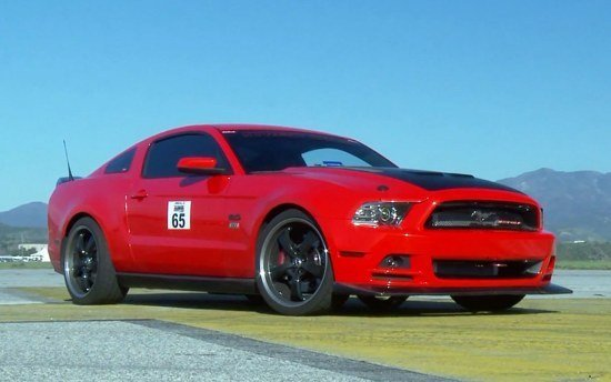 Hot Rod Unlimited Drives 2013 SEMA Mustang