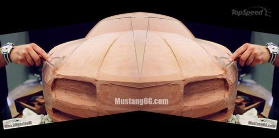 2015 Ford Mustang Clay Models Revealed