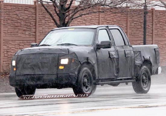 Ford Building Smaller F-100 Pickup