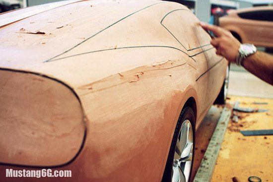 2015 Ford Mustang Clay Models
