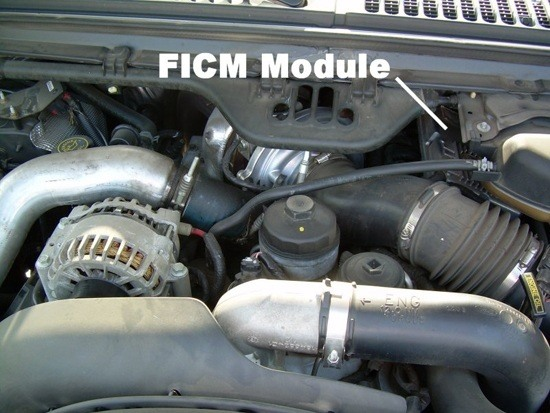 Identifying your Ford 6.0 FICM Part Number