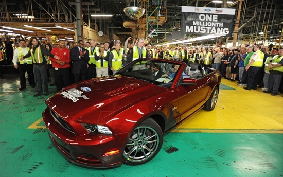 Ford Builds One Millionth Flat Rock Mustang