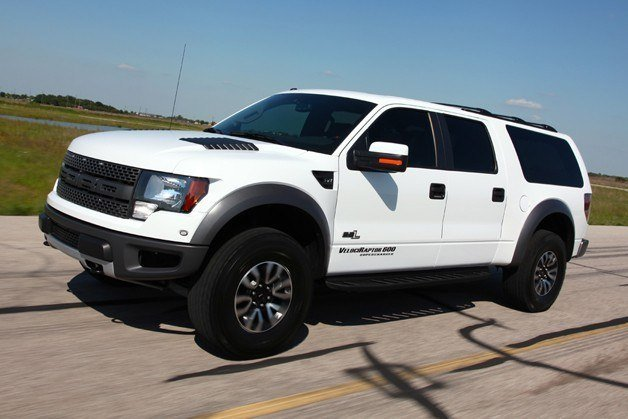Ford Raptor SUV Seats 8, 600HP - Meet the VelociRaptor