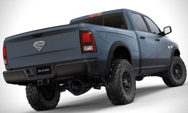Ram Superman edition truck