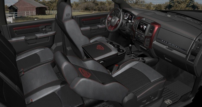 Superman Ram interior