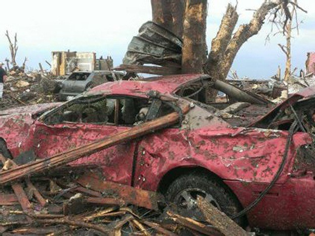 Tornado-Damaged Ford Mustang Still Starts, Drives - Storm
