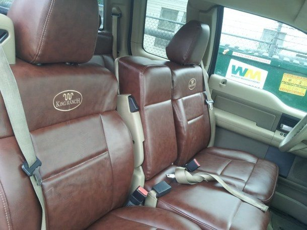 King Ranch Raptor Conversion - Seats New