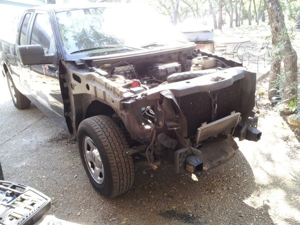 King Ranch Raptor Conversion - Front Engine