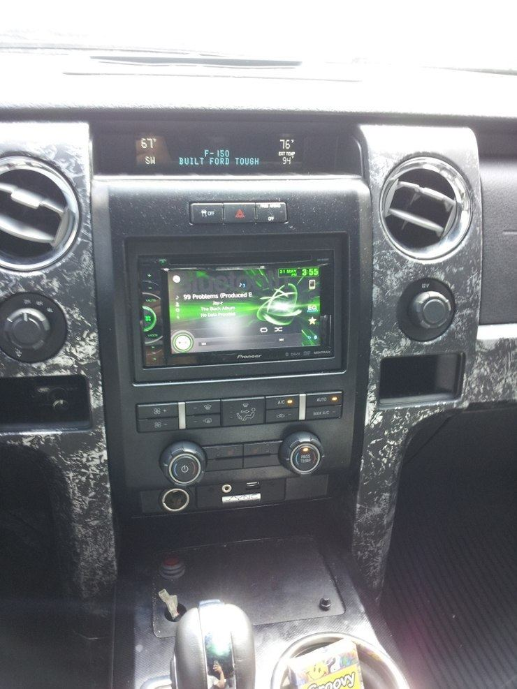Ford F-150 Call of Duty Reptar - Interior