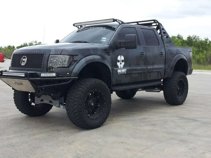 Ford F-150 Call of Duty Reptar - Profile