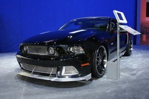 Highly Customized Mustang GT Front View