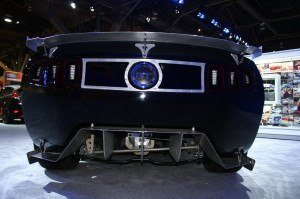 The View Most Drivers Would Have of this Custom Mustang