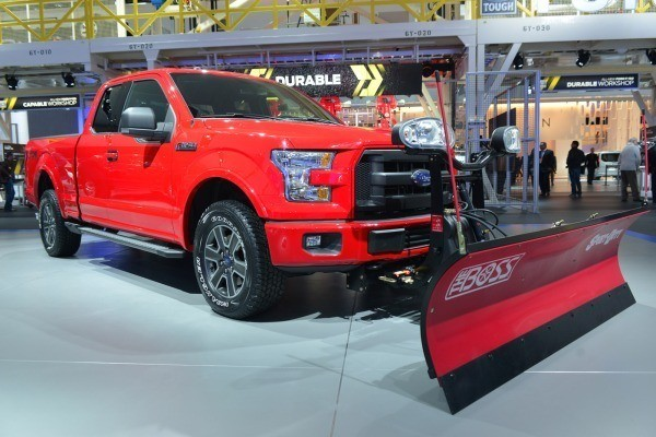 F-150 with Snow Plow