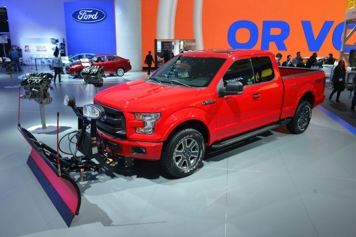Snow Plow F-150 Ford