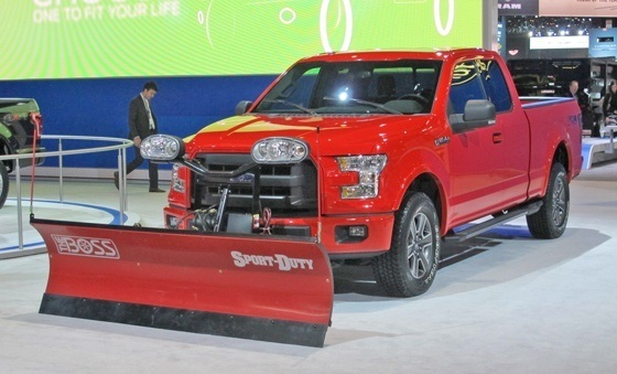 2015 F-150 with Plow