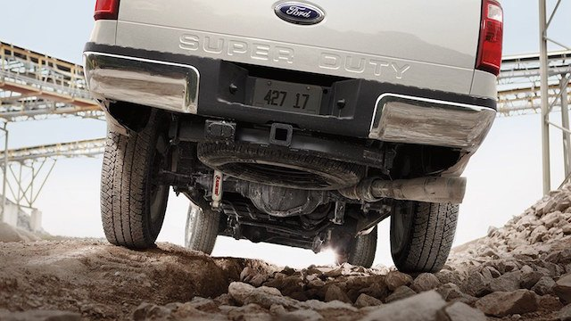 Super duty diesel rear