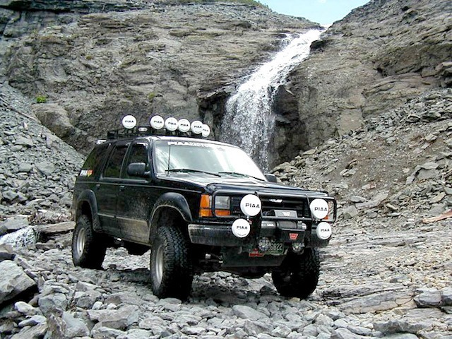 Waterfall Explorer