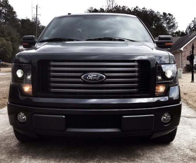 Blacked Out F150 7