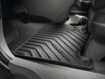 2005-2010 HONDA ODYSSEY 1ST AND 2ND ROW BLACK ALL SEASON FLOOR MATS