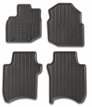 2009-2013 HONDA FIT BLACK ALL-SEASON FLOOR MATS