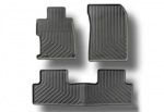 2014-2015 HONDA CIVIC 4 DOOR ALL SEASON FLOOR MATS (BLACK)