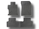 2013 HONDA CIVIC 2 DOOR BLACK ALL-SEASON FLOOR MATS