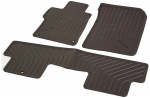 2014-2015 HONDA CIVIC 2 DOOR BLACK ALL-SEASON FLOOR MATS