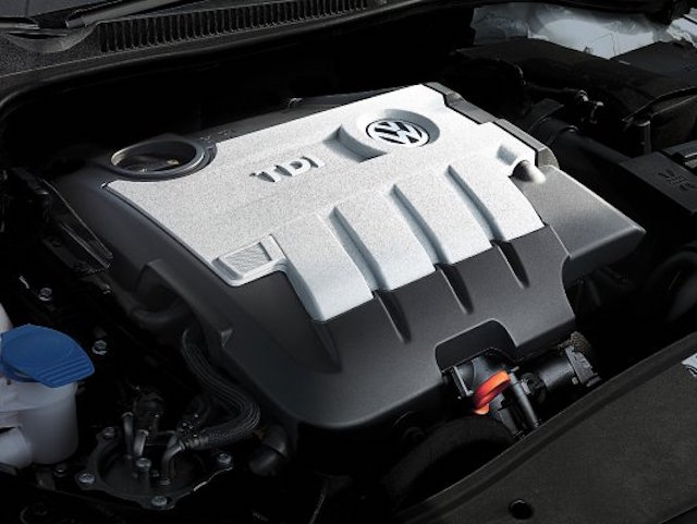 VW clean diesel engine