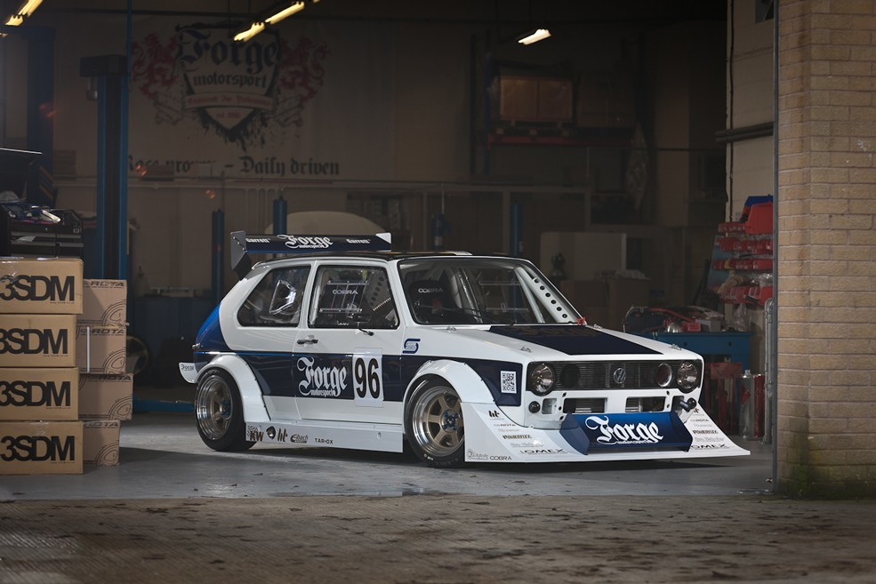VW Forge Motorsport Golf
