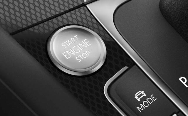 Button start engine