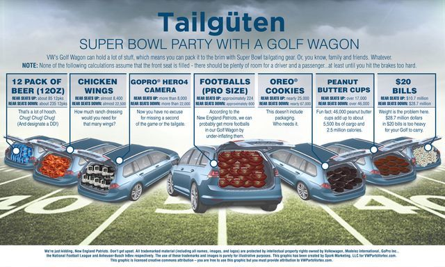VW Golf Superbowl