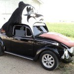 KISS VW Bug Turns Heads