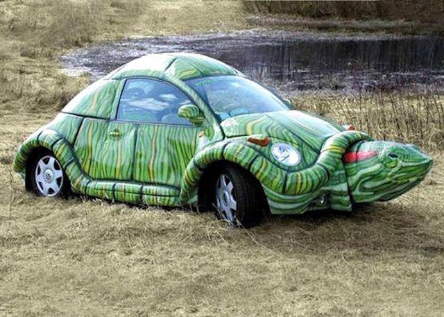 VW bettle turtle new