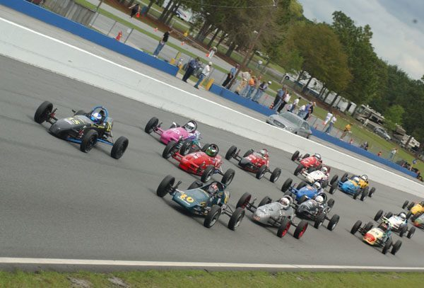 VW Formula Vee Racing